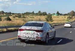 Al descubierto más detalles del Audi S8 2018 gracias a esta nueva foto espía