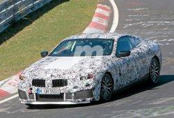 El sucesor del BMW Serie 6 prueba nuevo paquete M en Nürburgring