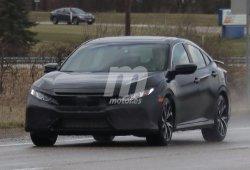 Honda Civic Si Sedan: la versión definitiva cazada a plena luz del día