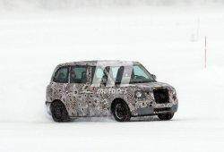 London Taxi LT5: el nuevo modelo híbrido en la nieve