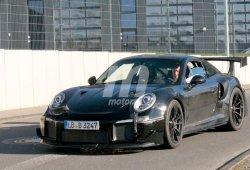 El nuevo Porsche 911 GT2 RS 2018 continúa su desarrollo con paso firme