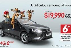Australia - Febrero 2017: MG vuelve al mercado