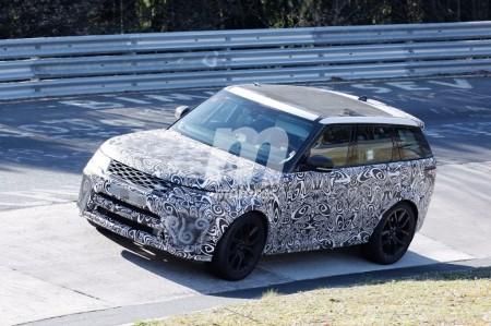 El nuevo Range Rover Sport SVR 2018 se pone a punto en Nürburgring