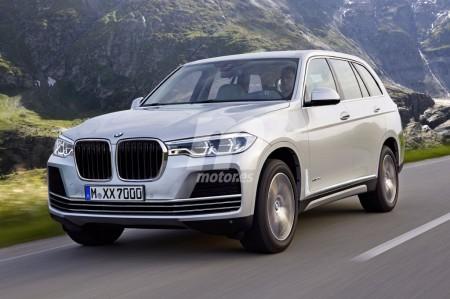 Nueva aproximación al futuro aspecto del BMW X7
