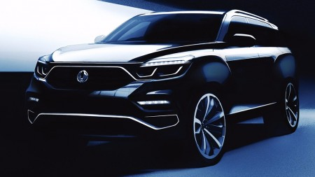 Un anticipo del nuevo SsangYong Rexton 2018 antes de su debut local