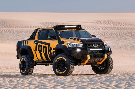 Toyota HiLux Tonka Concept: celebrando el enorme éxito del Hilux en Australia