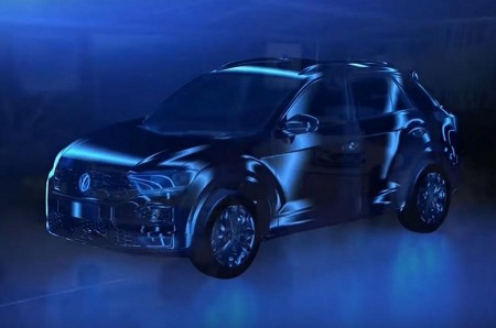 Volkswagen T-ROC 2017: su primera imagen nos revela sus rasgos