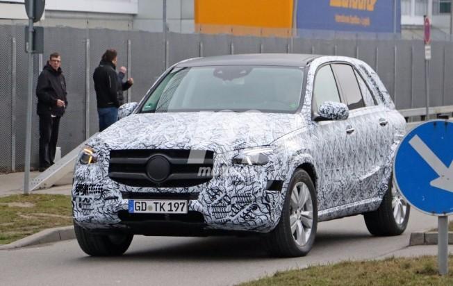 Mercedes GLE 2018 - foto espía