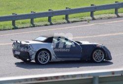 Chevrolet Corvette ZR1 Convertible: nuevas fotos de la versión descapotable