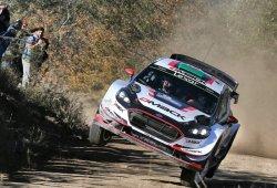 Elfyn Evans se destaca al frente del Rally de Argentina