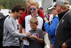 Alonso, impresionado por el recibimiento de los fans de la IndyCar