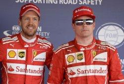 Vettel encabeza el primer doblete de Ferrari en ocho años