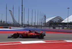 Ferrari va muy en serio en Sochi