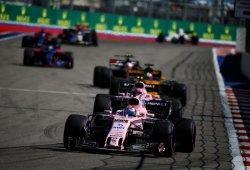 Force India sigue dando lecciones con Pérez como sólido líder