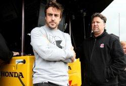 Peligra el test de Fernando Alonso en Indianápolis