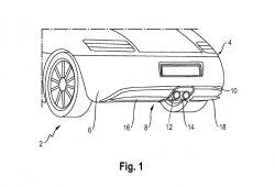 Porsche patenta un nuevo sistema de difusor trasero activo escamoteable