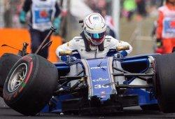 Giovinazzi experimenta la dureza de la F1 a golpes