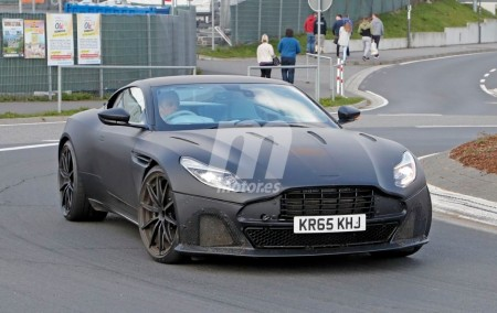 Aston Martin DB11 S 2018: casi a punto la nueva versión deportiva