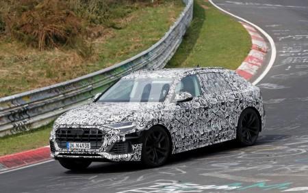 Audi Q8 2018: el nuevo SUV de lujo ya está probando en Nürburgring