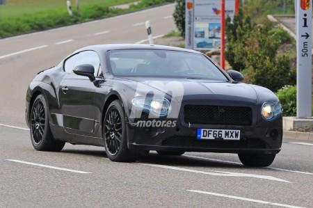 Bentley Continental GT: nueva unidad en pruebas con menos camuflaje