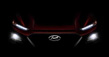 Hyundai Kona 2018: desvelado su frontal en un nuevo teaser