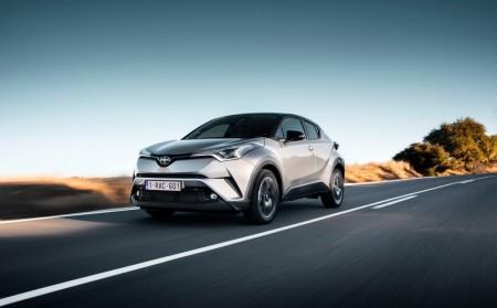 Noruega - Marzo 2017: El Toyota C-HR visita el podio