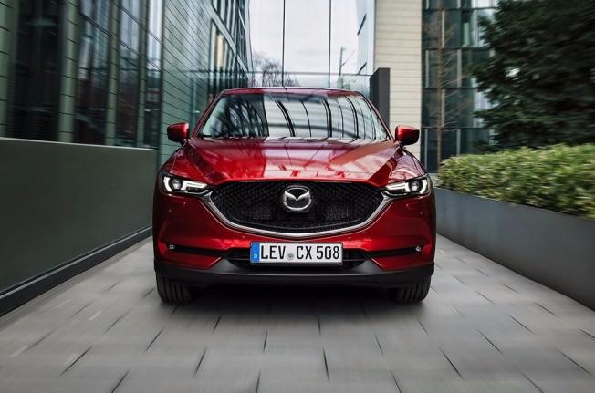 Mazda CX-5 2017 - frontal