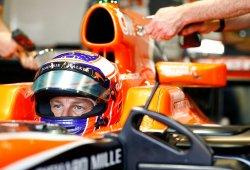 Button saldrá desde el pit-lane tras un cambio de set-up