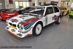 Un raro Lancia Delta S4 Rally ex Henri Toivonen a la venta en Alemania