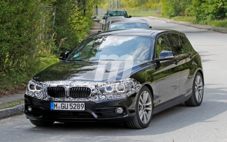 BMW Serie 1 2018: un nuevo vistazo al «facelift» del modelo actual