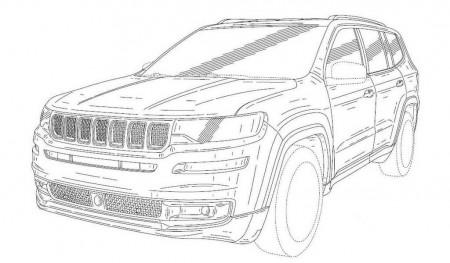 Unas patentes revelan la versión de producción del Jeep Yuntu Concept