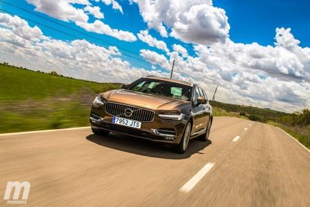 Prueba Volvo V90 D4, todo lo que una berlina familiar tiene que ser