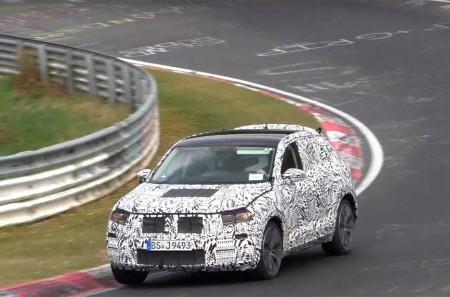 Vídeo espía del Volkswagen T-ROC 2018 a su paso por Nürburgring