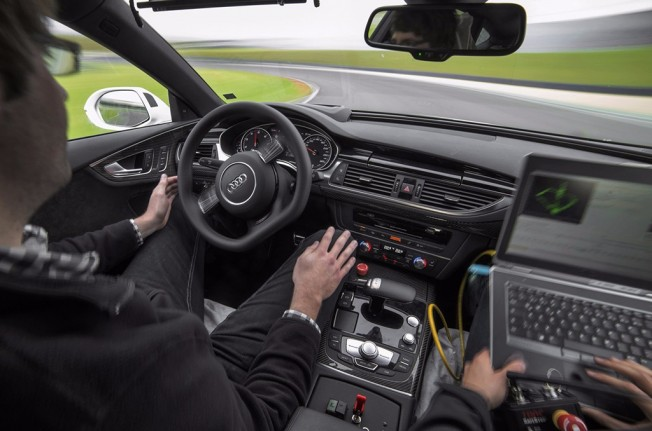 Prototipo de Audi autónomo