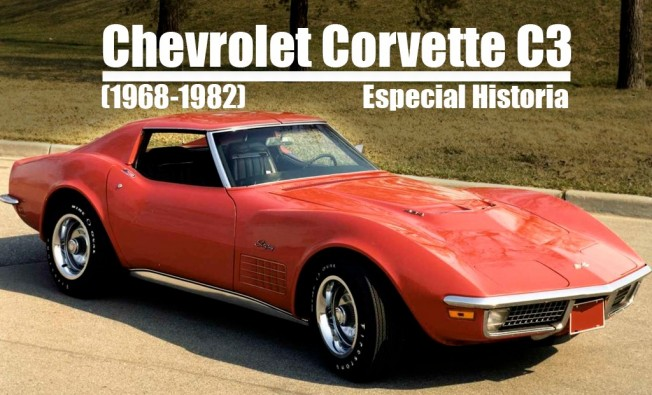Chevrolet Corvette C3 Stingray 1968 1982 Motor