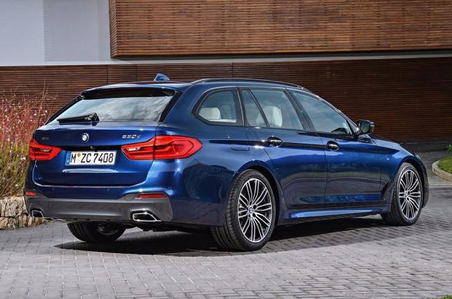 BMW Serie 5 Touring 2017 - posterior
