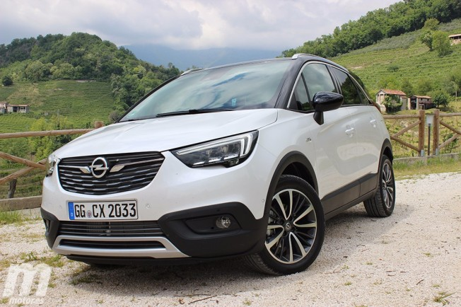 prueba opel crossland x 1 6 di sel 120 cv estilo en formato compacto con v deo. Black Bedroom Furniture Sets. Home Design Ideas