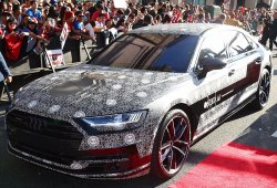 El nuevo Audi A8 debuta en el estreno de 'Spider-Man: Homencoming'
