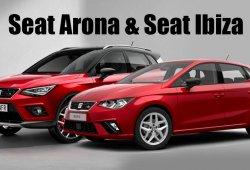 SEAT Arona vs SEAT Ibiza: comparativa visual de dos modelos muy relacionados