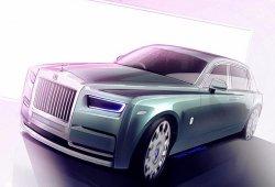 Rolls-Royce Phantom 2018: te anticipamos su diseño con estos bocetos