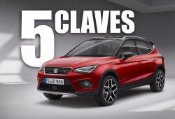 SEAT Arona: las 5 claves del nuevo crossover urbano español