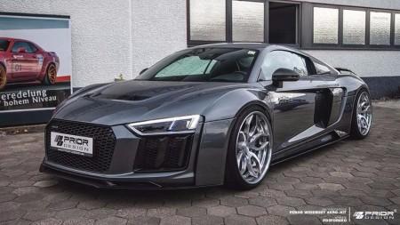 Prior Design embrutece al Audi R8 a base de esteroides