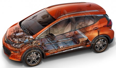 Las baterías de repuesto del Chevrolet Bolt cuestan más de 15.000 dólares en EEUU