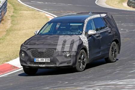 Hyundai Santa Fe 2018: la nueva generación se deja ver en Nürburgring