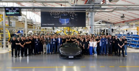 Lamborghini Huracán: ya se han fabricado 8.000 unidades en solo 3 años