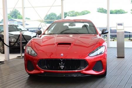 Los nuevos Maserati GranTurismo y GranCabrio 2018 debutan en Goodwood