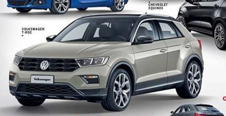 Volkswagen T-ROC 2018: ¿filtrado su diseño definitivo?