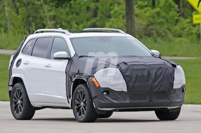 Jeep Cherokee 2018: cazado un prototipo del facelift que ...