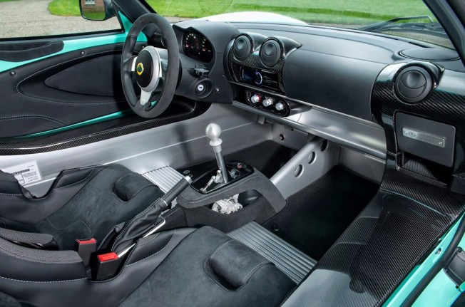 Lotus Elise Cup 250 2017 - interior