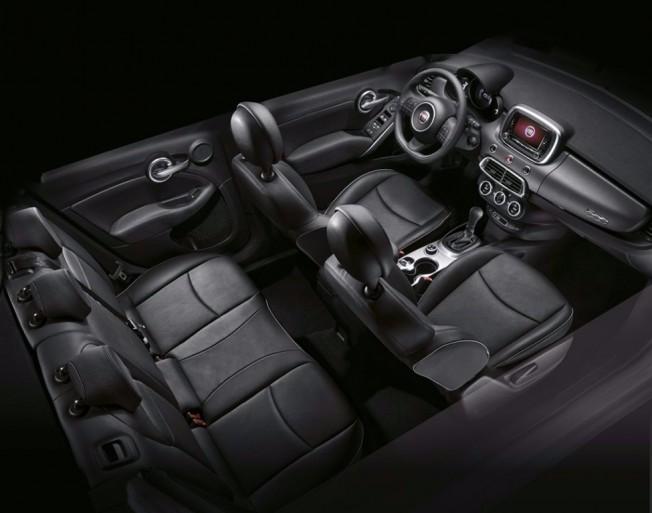 Fiat 500X GLP - interior